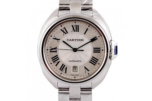 Cartier Cle-De-Cartier Silver Dial 40mm Steel