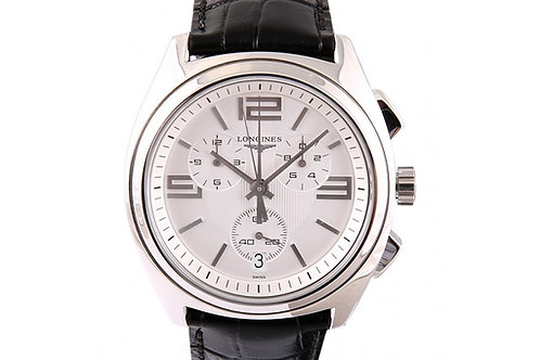 Longines Lungomare Silver Dial 42mm Steel