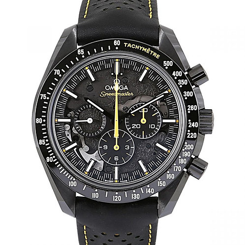 Omega Speedmaster Moonwatch Apollo 8 Skeleton Dial 44.25mm with Leather Strap