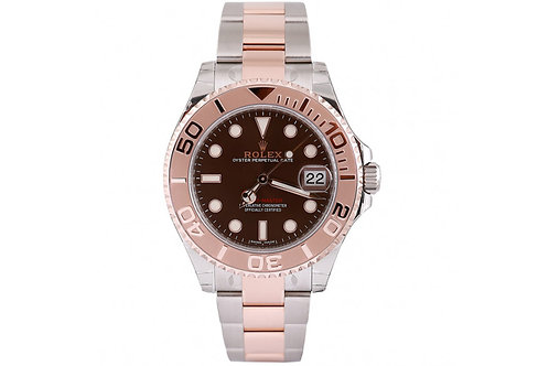 Rolex Yacht Master Steel and Everrose Gold