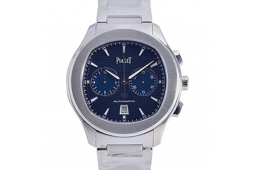 Piaget Polo S Chronograph Blue Dial 42mm Steel