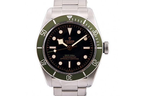 "Tudor Heritage Black Bay ""Harrods"" Black Dial 41mm Steel"
