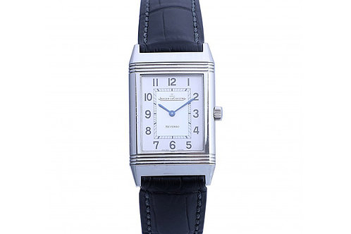 Jaeger LeCoultre Reverso Silver Dial 23 MM X 35 MM Steel