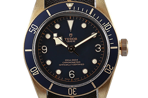 Tudor Black Bay Bronze Bucherer Blue Special Edition 43mm