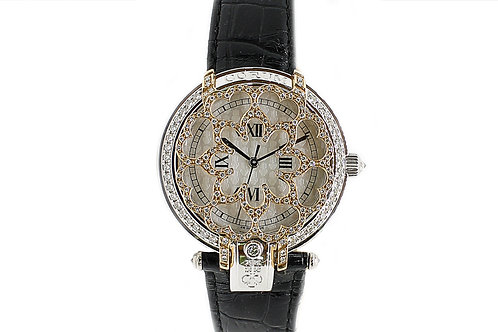 Corum White Gold and Yellow Gold with Diamonds Automatic 36mm
