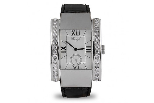 Chopard La Strada Steel, White Gold with Diamonds
