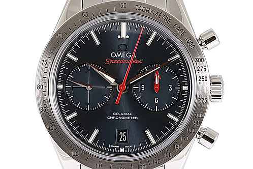 Omega Speedmaster '57 Co-Axial Chronograph Blue Dial Steel 42mm