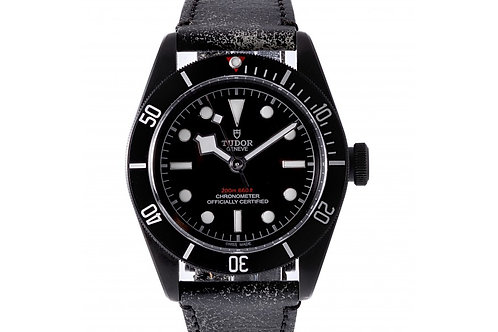 Tudor Heritage Black Bay Dark Black Dial 41mm PVD Steel