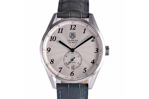 Tag Heuer Carrera Silver Dial 39mm Steel