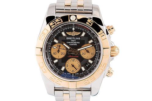 Breitling Chronomat 41mm Steel & Rose Gold
