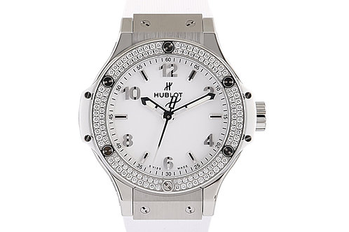 Hublot Big Bang Quartz 38mm Steel & Diamonds