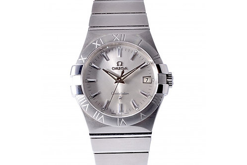 Omega Constellation Silver Dial 35mm Steel