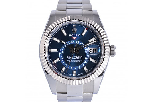 Rolex Sky-Dweller Blue Dial 42mm Steel