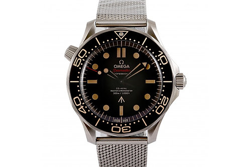 Omega Seamaster Diver 300m 007 Edition Brown Dial 42mm Titanium