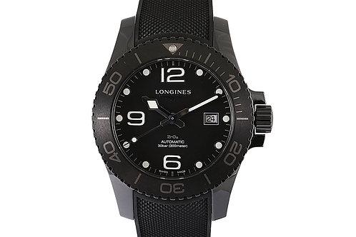 Longines HydroConquest Black Dial Ceramic 43mm