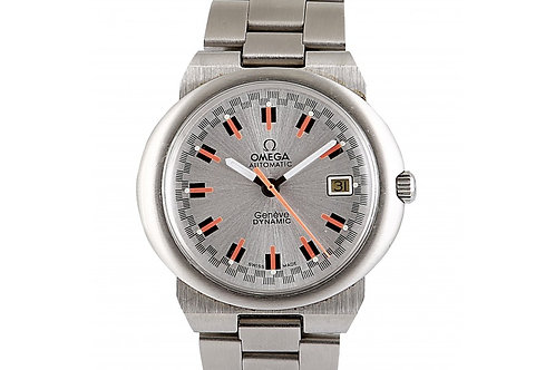 Omega Geneve Dynamic Tool 107 Silver Dial 40mm Steel