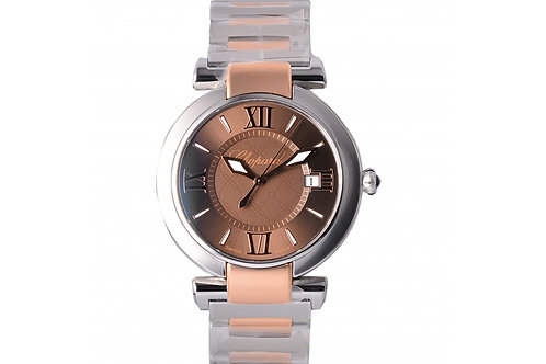 Chopard Imperiale Brown Dial 36mm Steel & Rose Gold