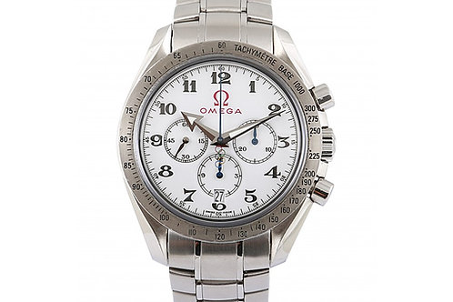 Omega Olympic Games Collection White Dial 42mm Steel