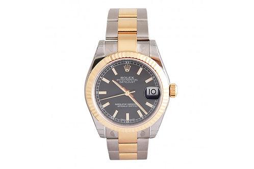 Rolex Datejust 31 Steel & Yellow Gold