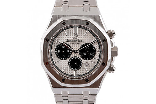 Audemars Piguet Royal Oak Chronograph Silver Dial 41mm Steel
