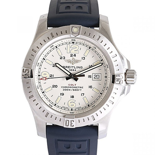 Breitling Colt Silver Dial 44mm Steel