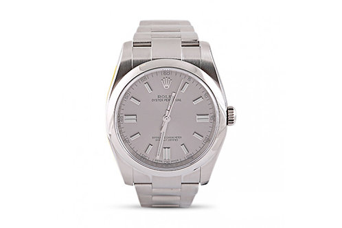 Rolex Oyster Perpetual Grey Dial 36mm Steel