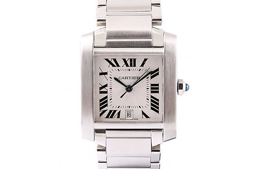 Cartier Tank Francaise 28 x 35mm Steel