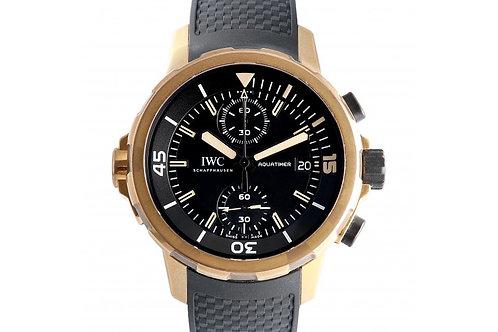 IWC Aquatimer Chronograph Black Dial 44mm Bronze