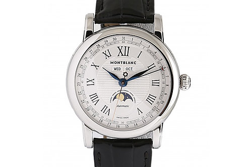 Montblanc Star Quantiéme Complet Silver Dial 42mm Steel