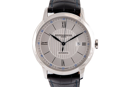 Baume & Mercier Classima 42mm Steel with Silver Dial
