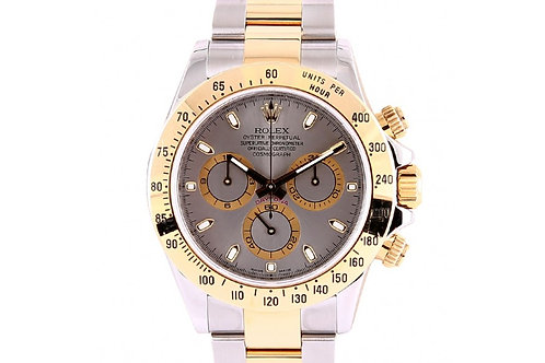 Rolex Daytona Cosmograph Grey Dial 40mm Steel & Yellow Gold