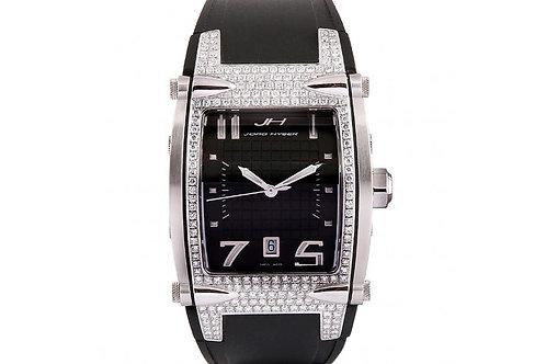 Jorg Hysek V-King 37mm Steel & Diamonds