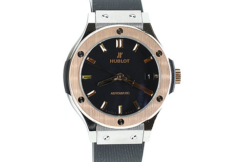 Hublot Classic Fusion Automatic 38mm Rose Gold Bezel with Titanium