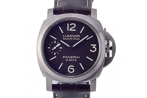 Panerai Luminor Marina 8 Days Brown Dial 44mm Titanium