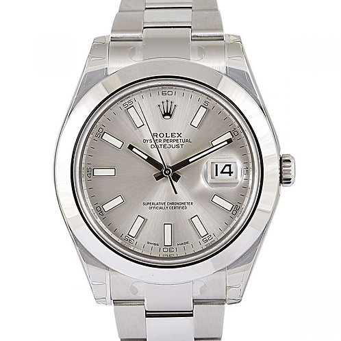 Rolex Datejust 2 41mm Steel with Silver Dial