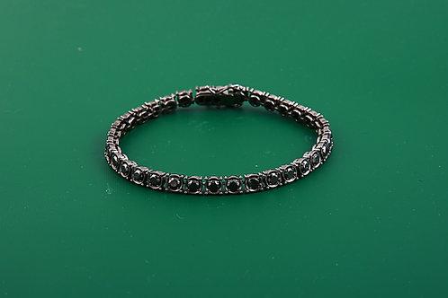 Black Gold Black Diamond Bracelet