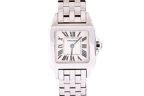 Cartier Santos Demoiselle White Dial 20mm Steel