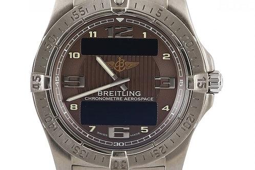 Breitling Professional Aerospace Advantage Silver Dial 42mm Titanium
