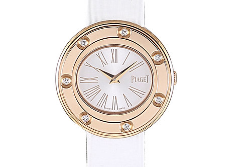 Piaget Possession Rose Gold with Diamonds Silver Dial 29mm