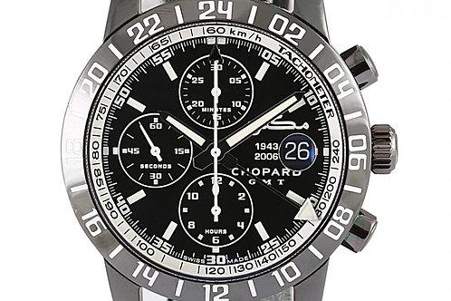 """Chopard Mille Miglia """"Maktoum"""" Edition GMT Chronograph Black Dial 42mm"""