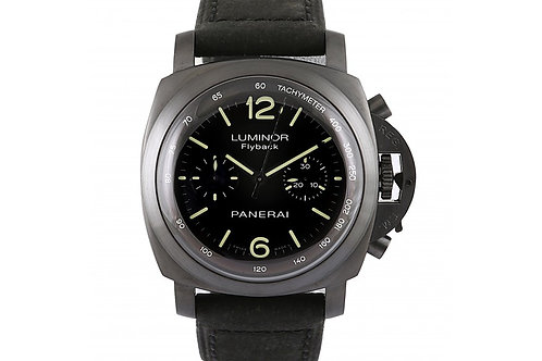 Panerai Luminor 1950 Chrono Flyback Middle East Black Dial 44mm Steel