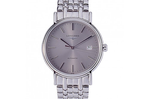 Longines Presence Automatic Silver Dial 38.5mm Steel