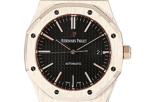 Audemars Piguet Royal Oak Rose Gold Black Dial 41mm