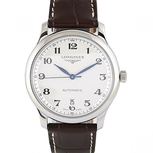 Longines Master Collection Silver Dial 38.5mm Steel