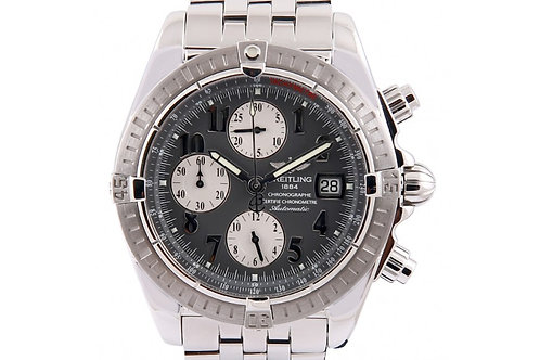 Breitling Chronomat Evolution Grey Dial 43.7mm Steel