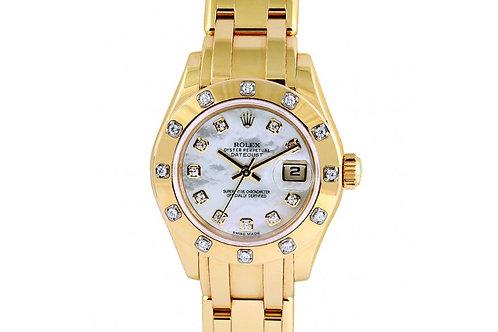 Rolex Pearlmaster Yellow Gold & Diamonds 29mm