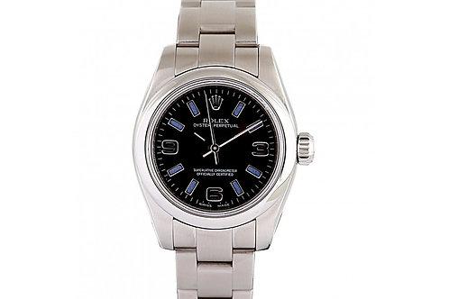 Rolex Datejust Black Dial 26mm Steel