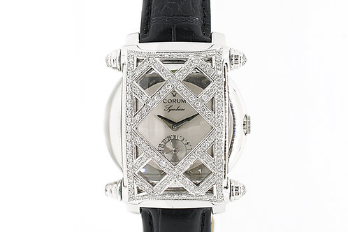 Corum Symbiose White Gold with Diamonds 36 x 45mm