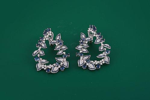 Designer Sapphire Earrings
