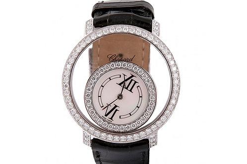 Chopard Happy Diamonds 40mm White Gold & Diamonds